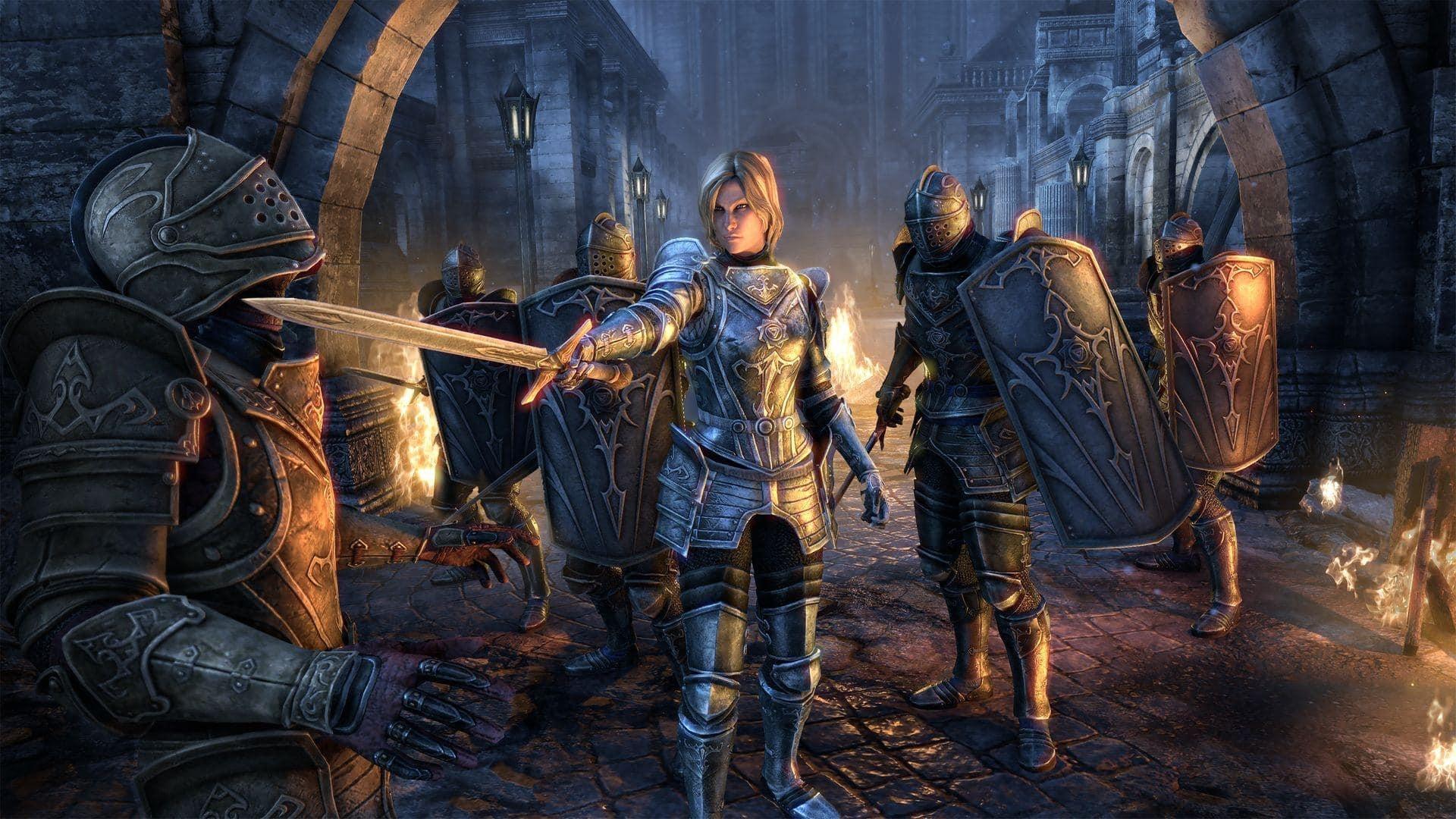 На PC состоялся релиз дополнения «Мрачная буря» для The Elder Scrolls Online